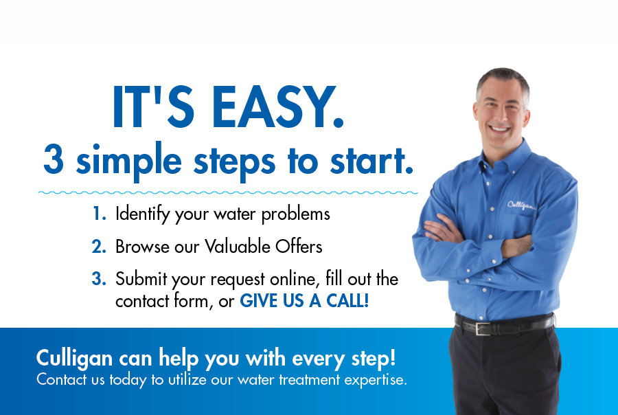 Culligan, water problems, Valuable Offers